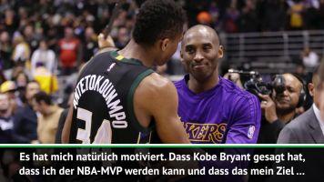 "Antetokounmpo: ""Kobe hat Feuer in mir entfacht"""