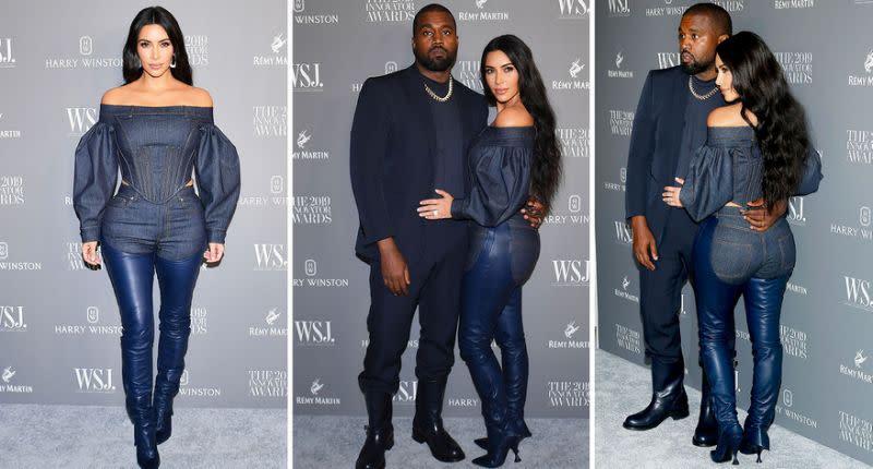 Kim Kardashian trägt bizarre hautenge Combo aus Leder-Cowboyhose und Jeans - Yahoo Nachrichten Deutschland