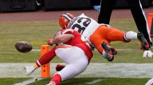 Cleveland Browns lose fumble on controversial no-call vs. Kansas City Chiefs