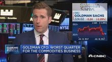 Goldman has become a 'show-me stock,' analyst says in downgrade