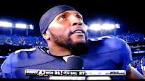 Ray Lewis' awkward attempt at play-by-play