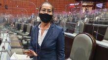 Diputada de Morena dice ante el pleno que pagó soborno de 20 mil pesos a un ministerio público