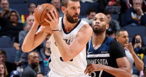 Basket - NBA - Une amende pour Marc Gasol (Memphis Grizzlies)