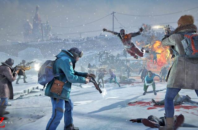 'World War Z' updates to add horde mode and a new zombie