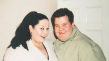 James Corden looks fresh-faced in 'Fat Friends' throwback snap posted by co-star Lisa Riley