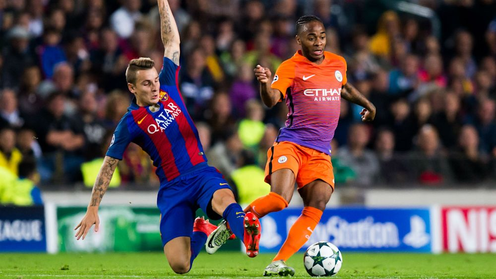 Clinical Barca point the way for Sterling and City