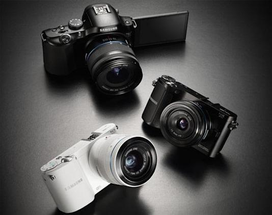 Samsung adds 20.3-megapixel NX20, NX210 and NX1000 to mirrorless cam lineup (update: now with video)