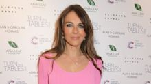 Liz Hurley tells Eamonn Holmes to squat while brushing his teeth to relieve back pain
