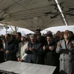 Jamal Khashoggi: Hundreds of mourners hold burial ceremony for Saudi journalist without his body