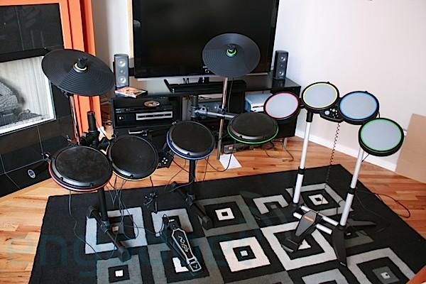 Hands (and feet) on with ION's Drum Rocker Rock Band Premium Drum Set