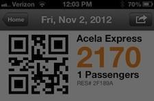 Amtrak for iPhone adds Passbook support