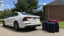 2020 Volvo S60 T8 Luggage Test | Plugging luggage into our long-term plug-in