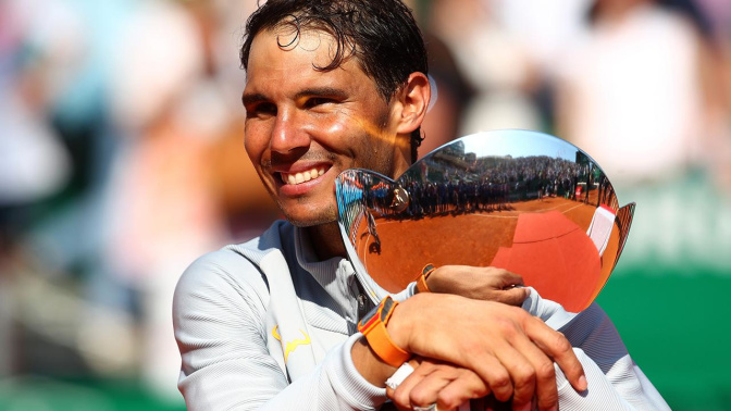 Nadal makes history with 11th Monte Carlo title