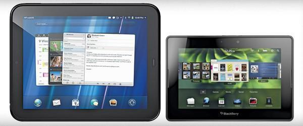 HP derides BlackBerry PlayBook OS as a 'fast imitation' of webOS, RIM says it's just good UI design