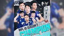 EVOS Legends are the champions of MPL Indonesia Season 7