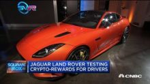 Jaguar Land Rover is testing Crypto rewards for drivers