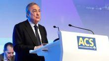 ACS gana 195 millones de euros hasta marzo y repartirá un dividendo flexible en julio
