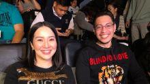 Kris Aquino seen at premiere with Atty. Gideon Pena