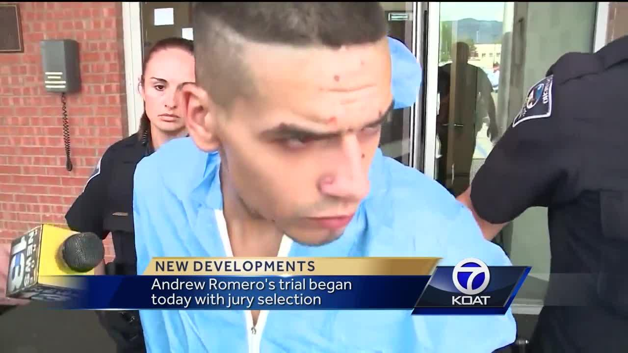 Jury selection for alleged cop killer Video