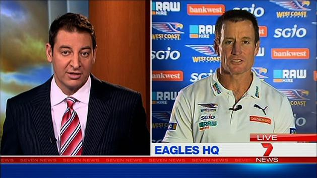 Special moment for Eagles: Worsfold