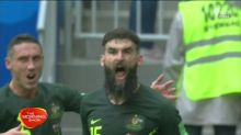Socceroos draw with Denmark