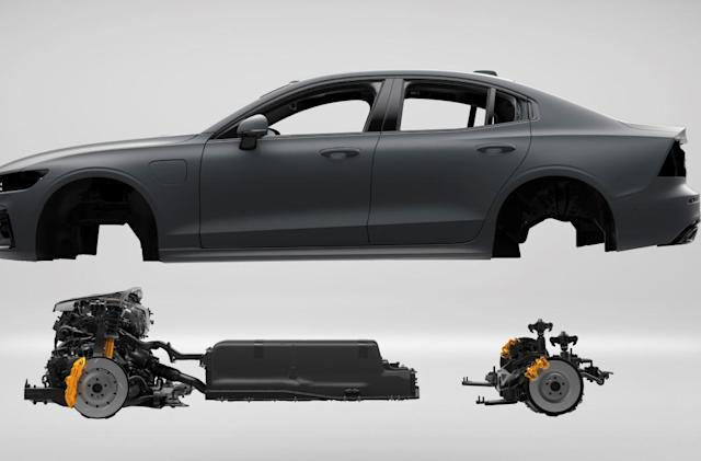 Volvo's subscription-only performance hybrid launches today