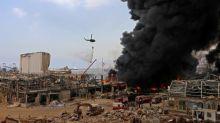 Incendie au port de Beyrouth : des millions de colis alimentaires de la Croix-Rouge brûlés