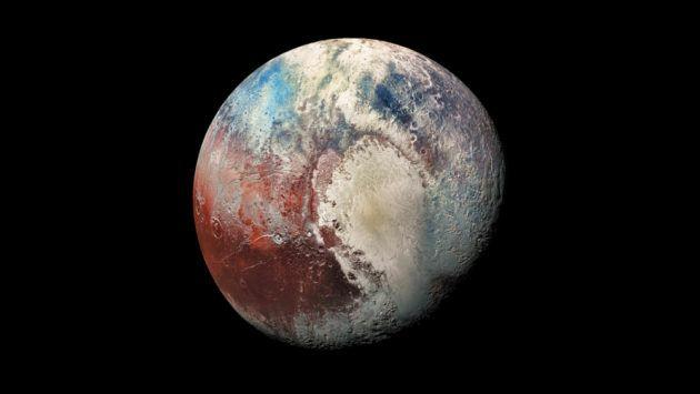 <p>When scientists discovered the dwarf planet Eris to be bigger than Pluto in 2006, it marked the start of Pluto's demotion from planetary status.</p><p>The New Horizons flyby revealed that Pluto is, in fact, larger than Eris—but not by much. Pluto's diameter is a whopping 1,473 miles across compared to Eris's 1,445-mile-wide diameter. Sorry, folks: This still doesn't mean Pluto will become a planet again. </p>