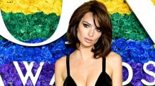 Emily Ratajkowski Just Wore a Sparkly Naked Gown on the Tony Awards Red Carpet