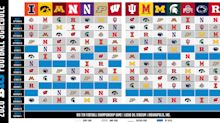 Amid tenuous times, Big Ten reveals flexible 2020 football schedule