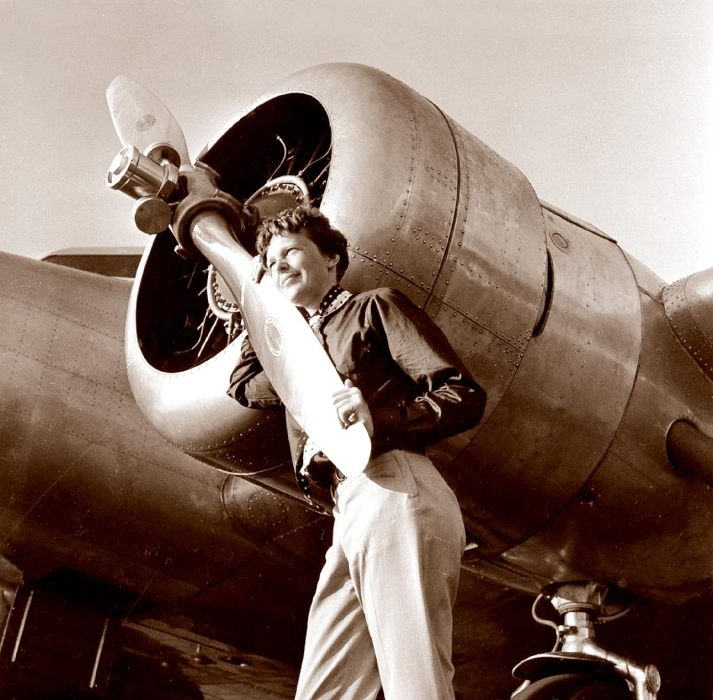 Amelia Earhart and her navigator Fred Noonan disappeared while on a round-the-world flight in 1937 (AFP Photo/Albert Bresnik)
