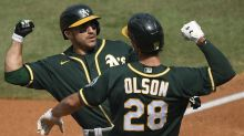 Matt Olson and Ramon Laureano named finalists for AL Gold Gloves