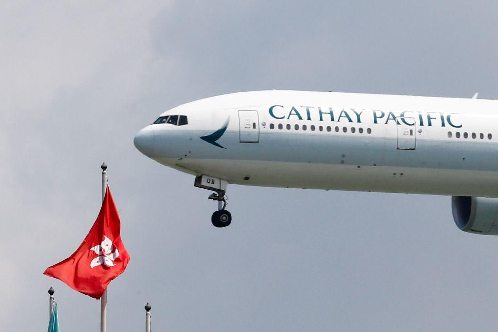 A Cathay Pacific labor leader was fired for her Facebook posts on Hong Kong's protests