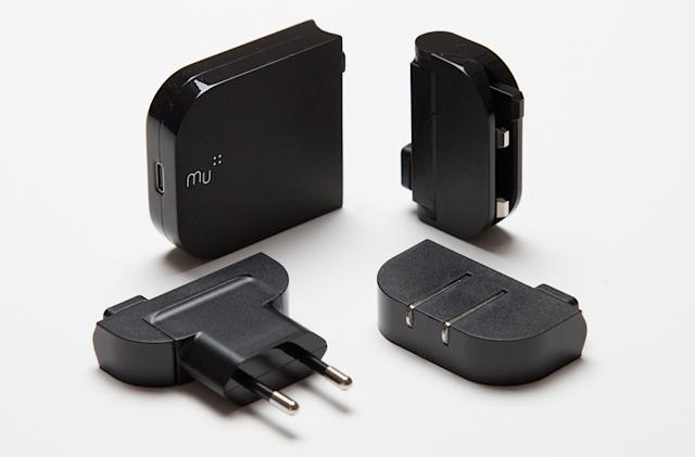 Mu One is an incredibly compact USB-C laptop charger