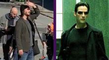 El regreso de Keanu a 'Matrix': se filtran primeras imágenes con cambio de look