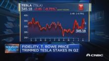 Fidelity and T Rowe Price trim Tesla stakes in Q2