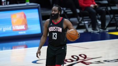 Harden speaks for first time since blockbuster trade