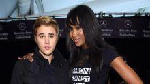 Justin Bieber & Naomi Campbell Spent Valentine's Day Together