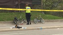 5-year-old boy dies after he was struck while riding his bicycle