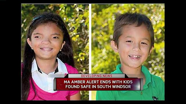 Massachusetts Amber Alert Resolved In Connecticut