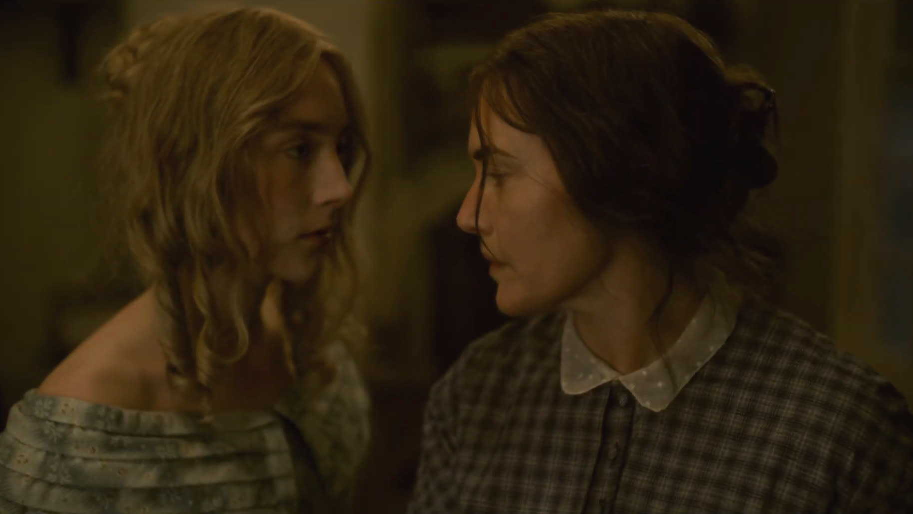 Saoirse Ronan and Kate Winslet on their new movie