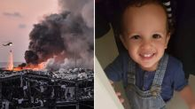 Australian killed in Beirut explosion identified as two-year-old boy