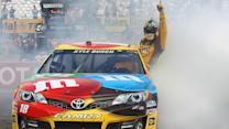 Toyota Highlights: Busch celebrates in style