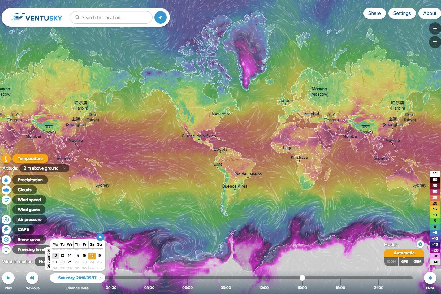 This Stunning Interactive Map Shows The Worlds Weather Conditions - Map that shows weather conditions for all of the us