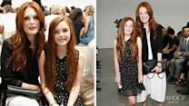 Julianne Moore's Fashionista Mini Me