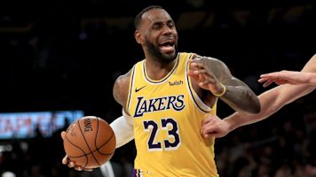 LeBron James makes NBA history with a triple-double against every team: 'OK, that's pretty cool'