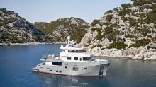 Bering's New 77-Foot Pocket Explorer Yacht Can Cruise Nonstop for a Total of 22 Days