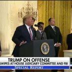 President Trump swipes at FBI's Russia probe, House Judiciary Committee