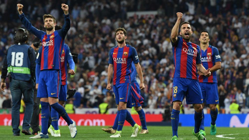 Barcelona, objetivo: 5 de 5