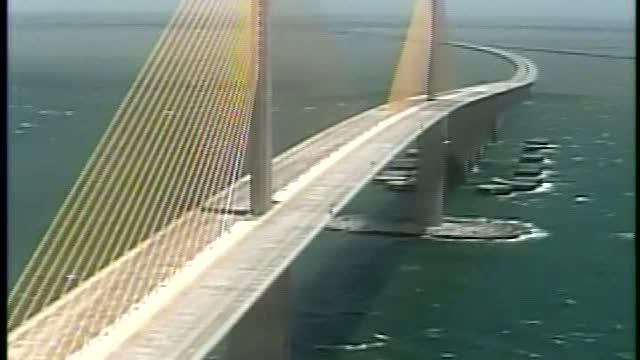 The Sunshine Skyway bridge reopens after three days